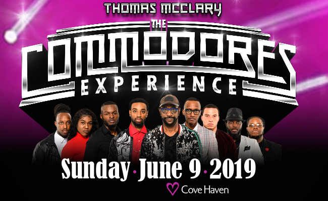 The Commodores Experience