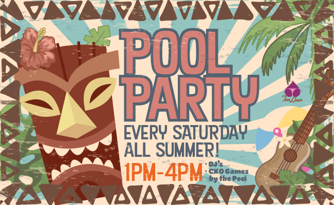 Saturday Pool Party