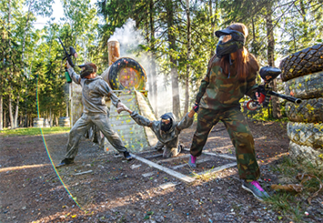 Spray and Pray: Adult-Only Paintball in the Poconos