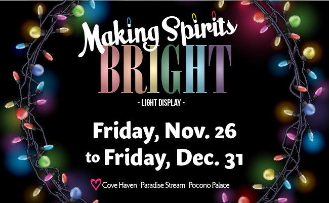 Making Spirits Bright Light Displays